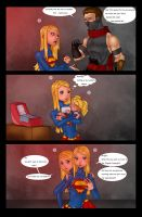 Supergirls and Mr Ninja pg7 by LexiKimble