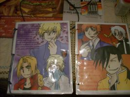 Vic Mignogna and Todd Haberkorn's gift booklets by albertxlailaxx