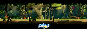 Jungle Design HD Pan by cyrilcorallo