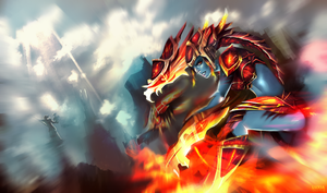 Shyvana by Luxial