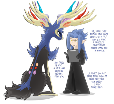 Ah Xerneas At Least You Tried... by SoftMonKeychains