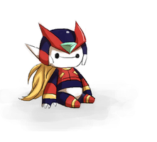 The Chibiest Of All Chibi Zero's by Irismightlikepink