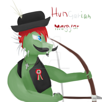 Hungarian Dragon by Hoparduc-Snowpanther