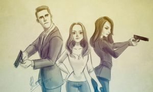 Agents of S.H.I.E.L.D by DavidAdhinaryaLojaya