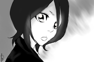Rukia... by watchfulshepherd