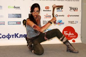Lara Croft REBORN7 - Igromir'12 by TanyaCroft
