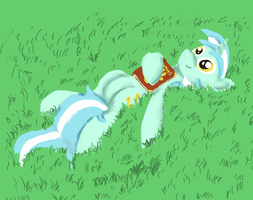 Lyra Daydreaming by ceramicpony