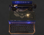 Vintage typewriter by llMarcos