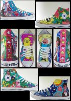 Nerd-Gasm Custom Converse by Phillippeaux
