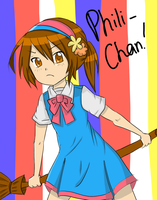 Philippines-chan by waffle-maaan