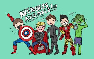 1D assemble by isavalladares
