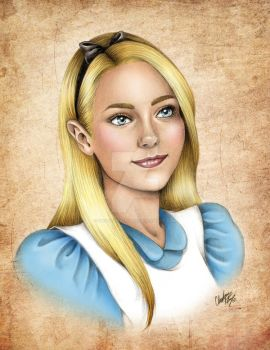 Alice in Color by madmoiselleclau