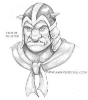 Trolde Fighter by MythAdvocate