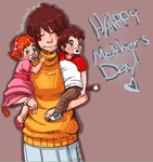 .:Happy -Belated- mothers day:. by Sofy-Senpai