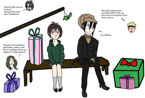 Nabari no ou: CHristmas at Tobari's! by LilKikay