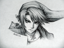 Day #3: Link by Anadia-Chan