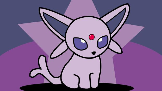 Espeon Chibi The Psychic Eevee Evolution Pokemon by Luchoxfive