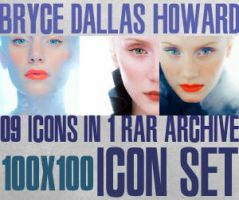 Bryce Dallas Howard Icon Set I by haunted-passion