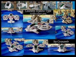 starship troopers landship by Granamir