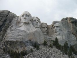 Mount Rushmore by opiumprincess