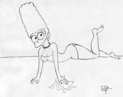 Marge Simpson by AmigoDan