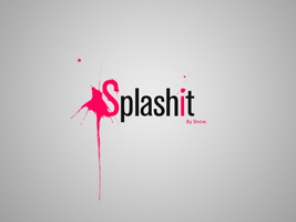 Splashit Logo Design by itsSnow