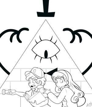 What's Lurking in the Dark--WIP Line Art by Spectra22