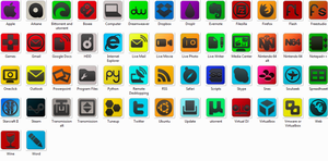 Arkane Icon Package 1 by Thibtje
