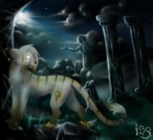 .+Magic Among the Ruins+. by IceandSnow