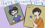 Happy Birthday Percy by wondernez