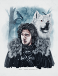 Jon Snow by Rawan091