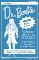 Dr. Barbie by schizmatic