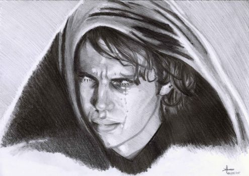 Anakin Skywalker by Tifaerith