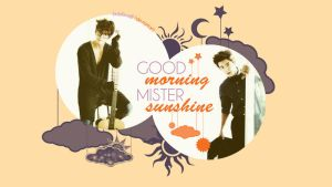 Donghae - Sunshine Wallpaper {HBD Fishy!!!} by JadeRiverJR