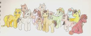 Walking Dead MLP by TheTater