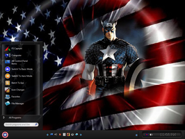 Win7 Captain America Theme by KeybrdCowboy
