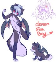 ref for demon boy by thekitty