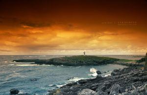 Northern Lighthouse by Stridsberg