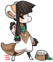 #452 Nomnom - Rice by griffsnuff
