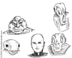 five Guys - Billy Corgan and some other aliens by J-Mobius