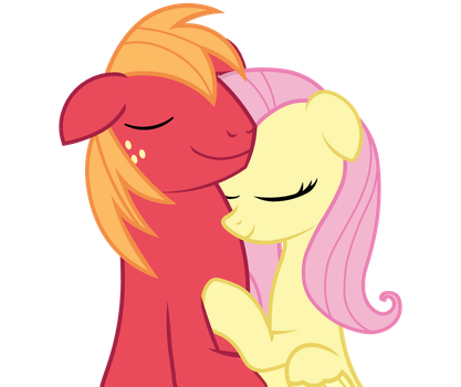 Fluttermac - Small Snuggle by BobtheLurker
