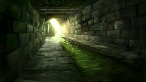 Sewer Exit by Alexlinde