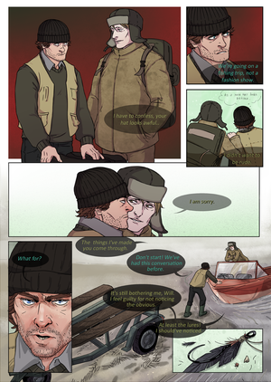 HANNIBAL: Mystery River page 01 by RinGreen