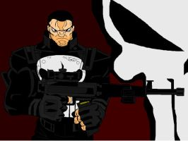 NO MERCY PUNISHER by castlehoff