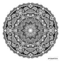 Mandala drawing 59 by Mandala-Jim