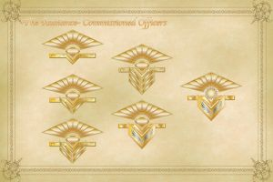 Radiance Officers Insignia Comm by JOEYDES