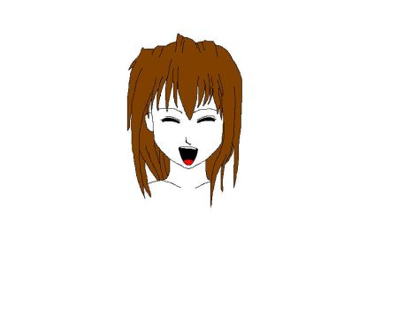 Simple Anime Characters Head by Derwydd3