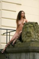 Lion lady by rasmus-art