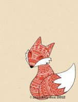 Folksy Fox by monkey-sox