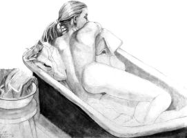 Bathtub Girl by MeteoDesigns